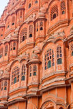 The Palace of winds. Old castle in India, the Palace of winds, Jaipur Royalty Free Stock Photography
