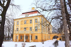 Palace at winter Stock Photo