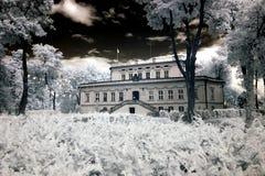 Palace in Wloszakowice Royalty Free Stock Image