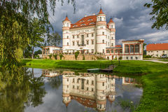Palace in Wojanów Stock Images