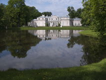 The palace. The wonderful summer day in Oranienbaum Royalty Free Stock Photos