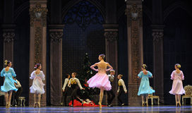 The palace young girl-The Ballet  Nutcracker Royalty Free Stock Image
