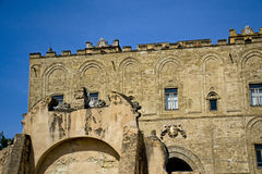 Palace Zisa of Palermo Royalty Free Stock Photography