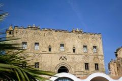 Palace Zisa of Palermo Stock Photos