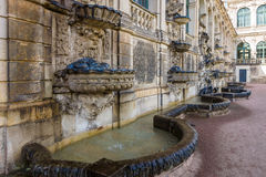 The palace Zwinger (Dresdner Zwinger) Royalty Free Stock Photos