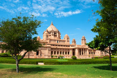 Palacel de Umaid Bhawan en Jodhpu, Rajasthán, la India imágenes de archivo libres de regalías