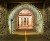 Palaceon souterrain oriental de Yu MausoleumQian de paysage de Qing Mausoleums longtemps photo libre de droits