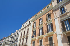 Palaces in Bari Oldtown. Apulia. Royalty Free Stock Image