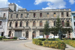 Palaces and churches of Havana Royalty Free Stock Photo