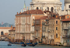 Palaces at the Grand Canal Stock Images