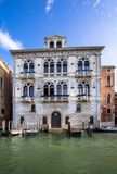 Palaces on Grand Canal, Venice, Italy Royalty Free Stock Photography