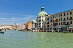 Palaces on Grand Canal. Venice, Italy Stock Photography