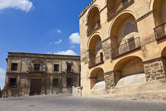 Palaces in historic Cordoba's downtown Stock Image