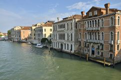 Palaces in Venice Royalty Free Stock Photos