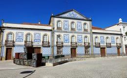 Palacete gör Visconde da Granja Royaltyfri Foto