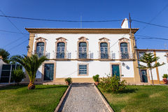 The Palacete Turismo Rural - a Manor Guest House hotel in Flor da Rosa. Royalty Free Stock Images