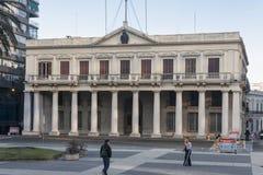 Palacio θλ*εστεβεζ Μοντεβίδεο Ουρουγουάη Στοκ εικόνες με δικαίωμα ελεύθερης χρήσης