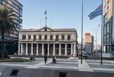 Palacio θλ*εστεβεζ Μοντεβίδεο Ουρουγουάη Στοκ Φωτογραφίες
