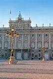 palacio μνημείων de Μαδρίτη oriente Στοκ Εικόνες