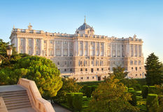 palacio μνημείων de Μαδρίτη oriente Στοκ φωτογραφία με δικαίωμα ελεύθερης χρήσης