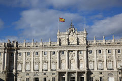 Palacio πραγματικό de Μαδρίτη Στοκ Εικόνες