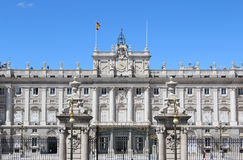Palacio πραγματικό, Royal Palace, Μαδρίτη, Ισπανία Στοκ φωτογραφίες με δικαίωμα ελεύθερης χρήσης