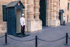 palacio προεδρικό Σαντιάγο moneda της Χιλής de guard Λα Στοκ φωτογραφίες με δικαίωμα ελεύθερης χρήσης