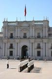 palacio Σαντιάγο de Λα moneda στοκ φωτογραφία με δικαίωμα ελεύθερης χρήσης