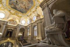 palacio дворца madrid реальное Стоковые Изображения