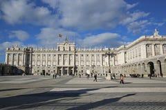 Palacio реальный de Мадрид Стоковое фото RF
