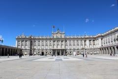 Palacio реальное, королевский дворец, Мадрид, Испания Стоковое Изображение