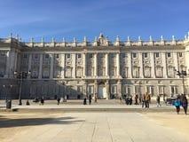 Palacio реальное, Мадрид, Испания Стоковые Изображения RF