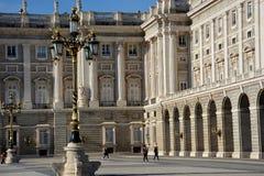Palacio реальное, Мадрид, España Стоковая Фотография RF