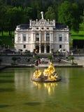Palacio 01, Alemania de Linderhof Fotografía de archivo libre de regalías