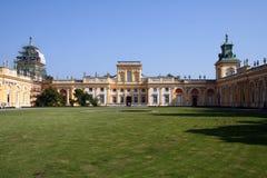 Palacio 2 de Wilanow Imagen de archivo libre de regalías