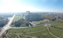 Palacio aéreo del parlamento Imagenes de archivo