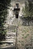 Palacio abandonado. Imágenes de archivo libres de regalías