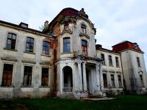 Palacio abandonado en Bielorrusia Imagen de archivo