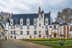 Palacio anterior del ` s del obispo en Beauvais, Francia imágenes de archivo libres de regalías
