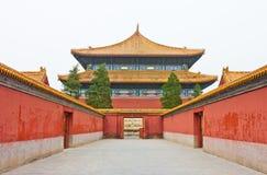 Palacio antiguo de China Fotografía de archivo libre de regalías