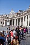 Palacio apostólico Imágenes de archivo libres de regalías