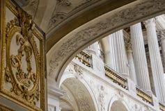 Palacio arquitectónico del detalle de Versalles Fotos de archivo libres de regalías