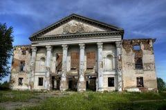 Palacio arruinado Imágenes de archivo libres de regalías