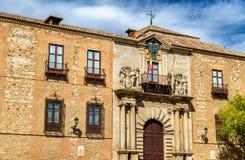 Palacio Arzobispal ή παλάτι Αρχιεπισκόπου ` s στο Τολέδο, Ισπανία Στοκ Φωτογραφία
