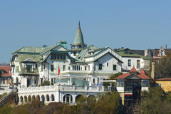 Palacio Baburizza. The ornate Art Nouveau Palacio Baburizza in the coastal city of Valparaiso in Chile. The building houses a fine arts museum Stock Image