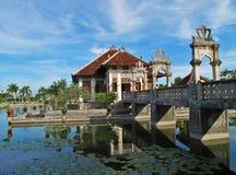 Palacio Bali 13 del agua de Ujung Imagen de archivo libre de regalías