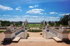 Palacio barroco del estilo Imágenes de archivo libres de regalías