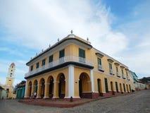 PALACIO-BRUNETT, TRINIDAD, KUBA Arkivbild