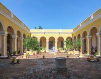 Palacio Cantero in Trinidad in Cuba. Palacio Cantero in Trinidad, a town in Cuba in sunny ambiance Royalty Free Stock Photo