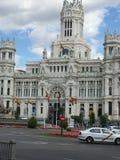 Palacio Cibeles, Μαδρίτη, Ισπανία Στοκ φωτογραφία με δικαίωμα ελεύθερης χρήσης